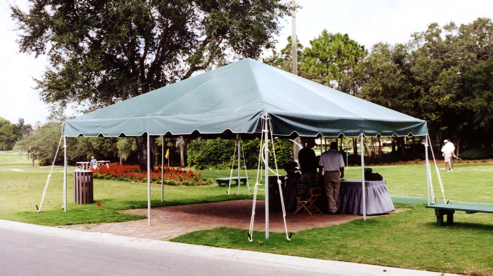 & 20 x 20 Frame Tent
